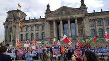 Aktion in Berlin