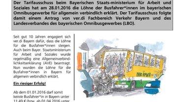 Flugblatt zur AVE Erklärung BAyern