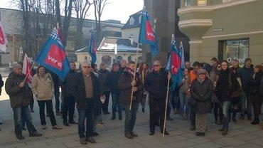 Aktion der Landes- und Kommunalbeamten in Passau am 14.02.2017