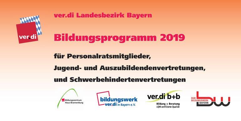 Bildungsprogramm 2019 für PR