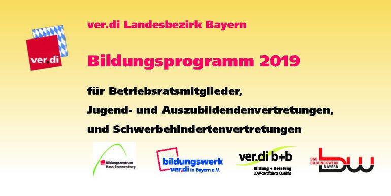Bildungsprogramm 2019 für BR